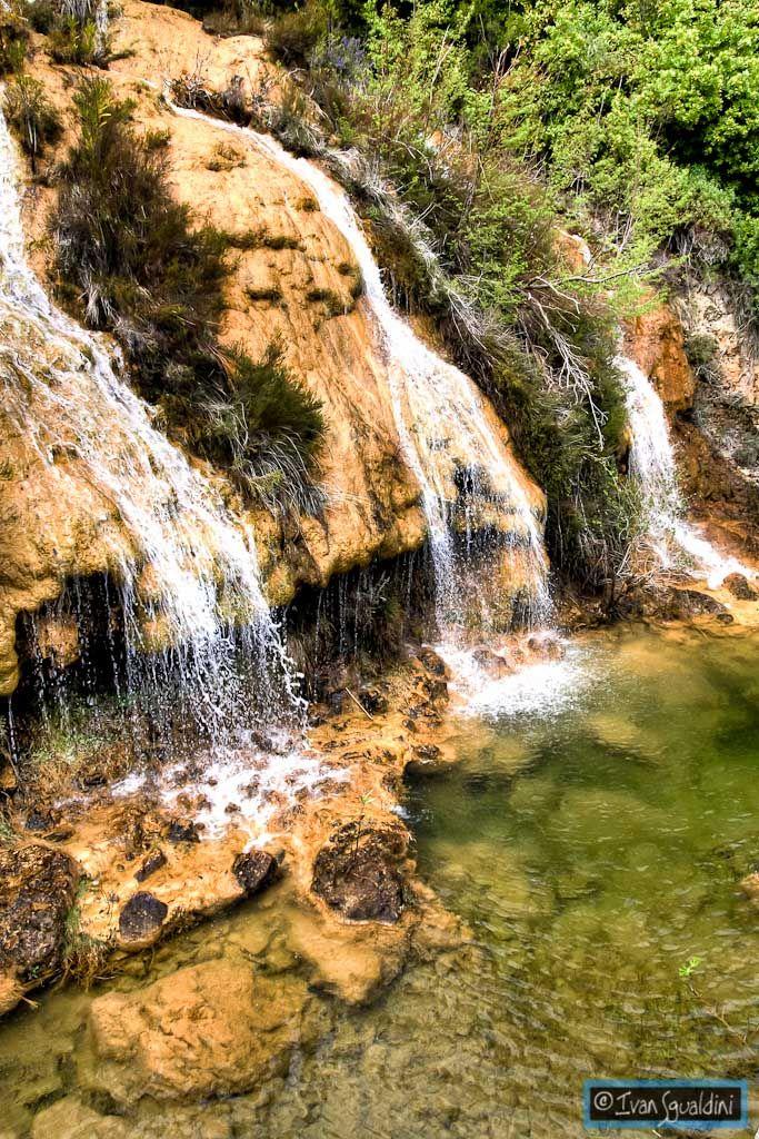 Cascate di Lequarci, Ulassai, Sardegna, Sardinia