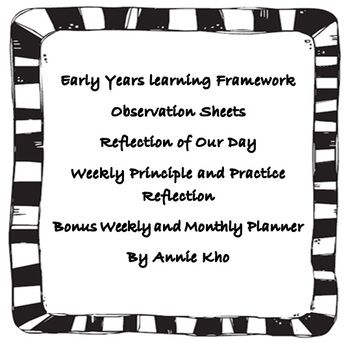 55 best Early Years Learning Framework images on Pinterest
