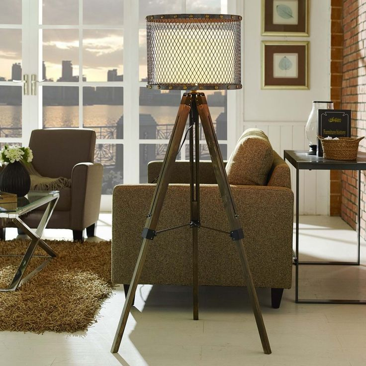The Fortune floor lamp is well suited