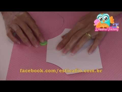 Turbante Bebê - Enxoval de Bebê - YouTube
