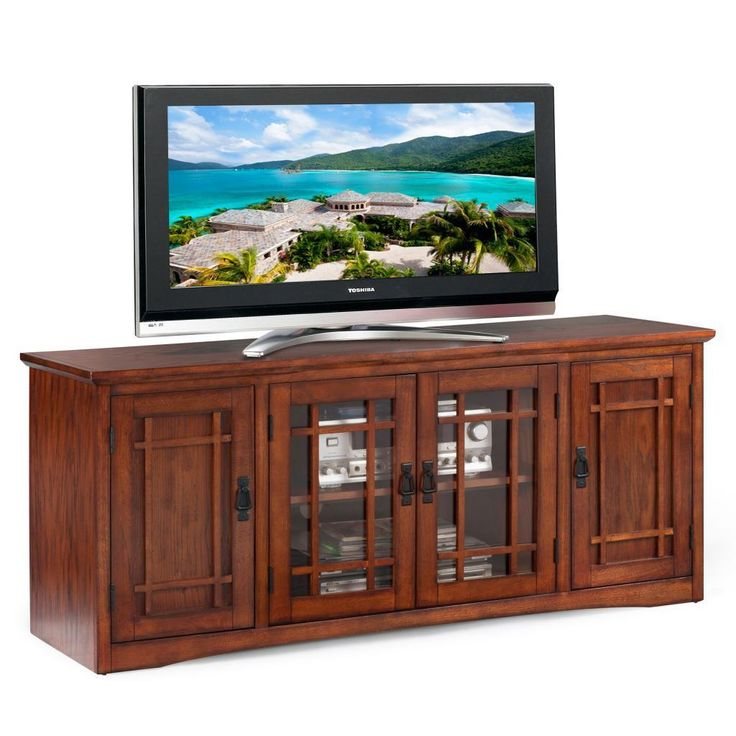 Mission Oak Hardwood Tv Stand Ping Great Deals On Kd Furnishings Entertainment Centers