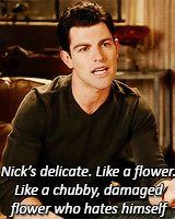 About Nick Miller, New Girl. My new obsession!