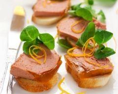 Mousse de canard au Cognac (facile, rapide) - Une recette CuisineAZ