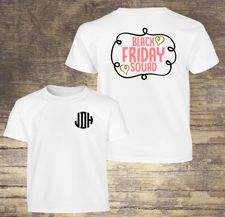 A personal favorite from my Etsy shop https://www.etsy.com/listing/473263812/black-friday-squad-shirt-black-friday