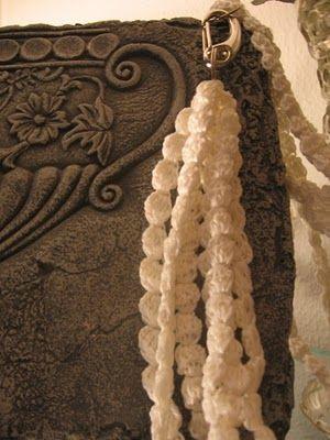 #Tutorial : Di Lana Cotta: Collana a punto nocciola - Necklace point hazelnut (translate from Italian)