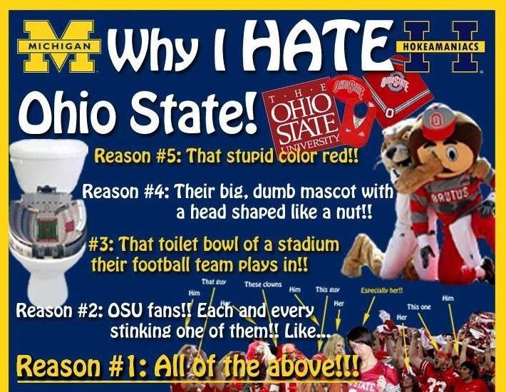 Why I hate Ohio State