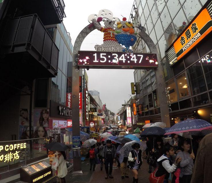 Takeshita street sign