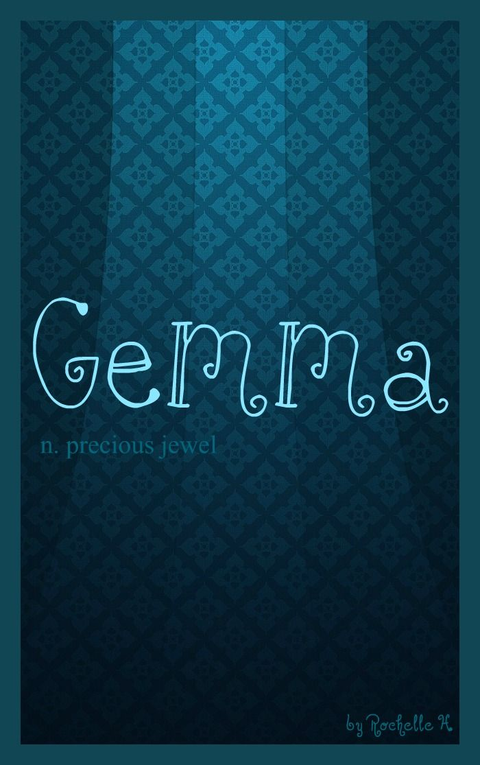 Baby Girl Name: Gemma. Meaning: Precious Jewel. Origin: Latin; French; Irish. http://www.pinterest.com/vintagedaydream/baby-names/