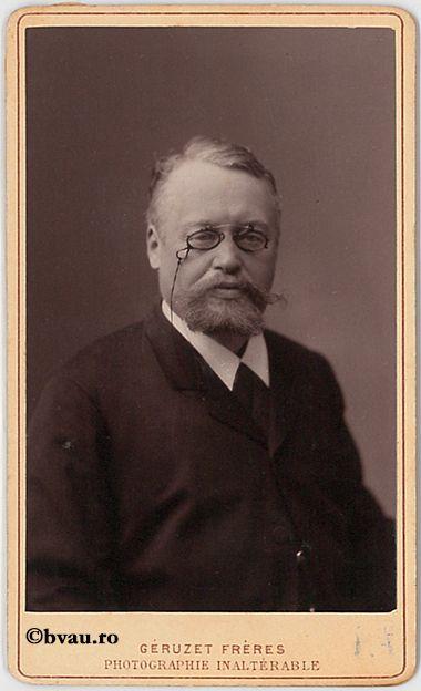 """Olliv Xavier, Bruxelles, 1888. Imagine din colecțiile Bibliotecii """"V.A. Urechia"""" Galați."""