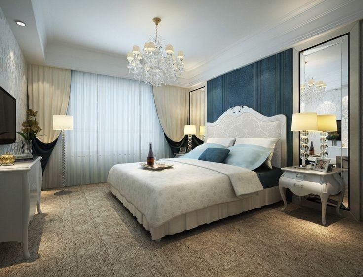 Królewska sypialnia, łóżko do sypialni, ekstrawagancki dekor. Zobacz więcej na: https://www.homify.pl/katalogi-inspiracji/12399/pomysly-na-dekoracje-sypialni