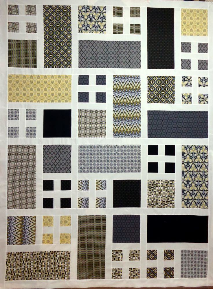 """Taking Turns"" or ""Patio"" Quilt 