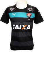 Camisa Goleiro Vitória 2015 Puma Preta