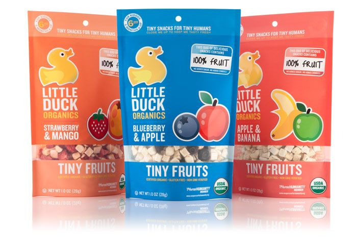 Tiny Fruit by Little Duck Organics (flavors like Strawberry and Blueberry are sure to WOW the kids) #AshleyKoffApproved