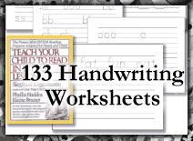YoungMinds Free Printable Handwriting Lessons - free stuff