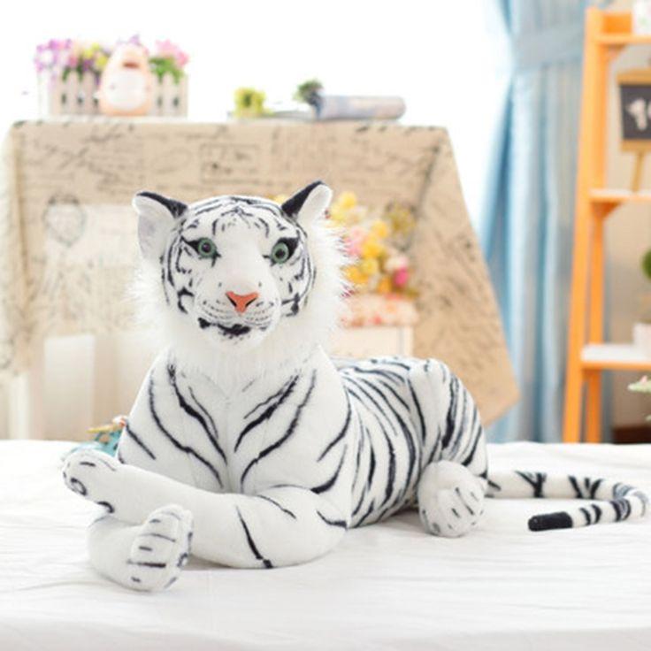 23.92$  Buy now - http://aliqgk.shopchina.info/1/go.php?t=32801872059 - Cute Plush Tiger Animal Toy Child Gift Lovely Stuffed Doll Animal Pillow Children Kid Birthday Gift Peluches De Animales 70C0059 23.92$ #magazine