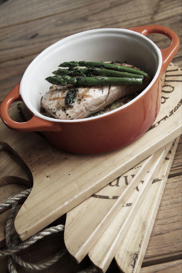 Cecile's Grilled Salmon #nannyspavillon #food #bakedrice