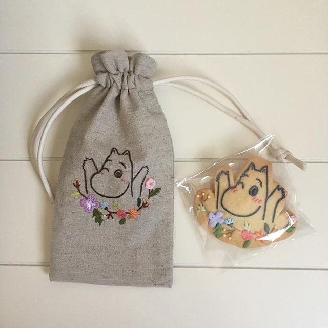 Moomin!  Embroidery
