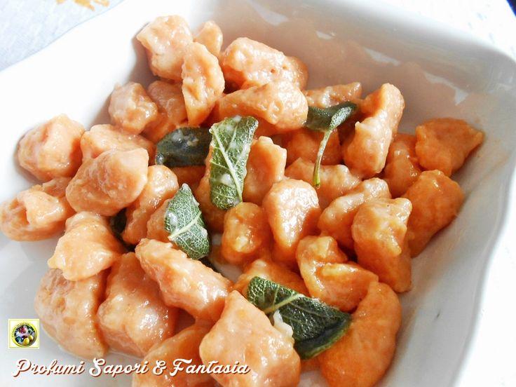 Gnocchi di patate rosa ricetta base