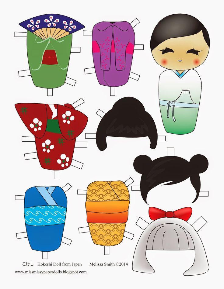 Miss Missy Paper Dolls: Melissa Smith