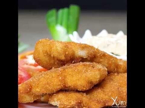 Chicken Tenders | Chicken Tenders  Recipe | Crispy Chicken Tender