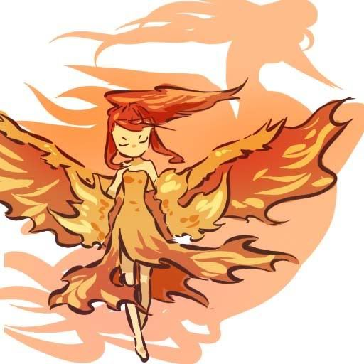 [Art] Pokemon in Human Form (moltres)