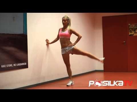 ▶ Kruhový tréning na celé telo 4 - Ženy - Posilka.TV - YouTube