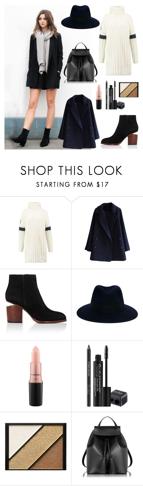 EL_C by stepehi on Polyvore featuring Alexander Wang, Le Parmentier, Maison Michel, Elizabeth Arden, Rodial, MAC Cosmetics and Calder