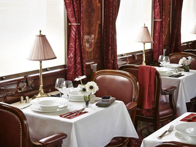 Orient Express le savoir-faire gastronomique des grands chefs s'invite à bord de l'Orient-Express par Yannick Alléno.