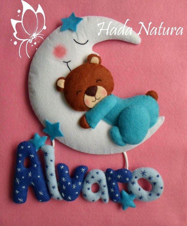 Hada Natura: Nombres de fieltro