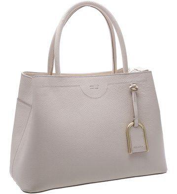Bolsa Shopping Bella-Donna Cinza