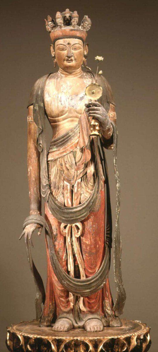 Are asian wood drawing buddha history