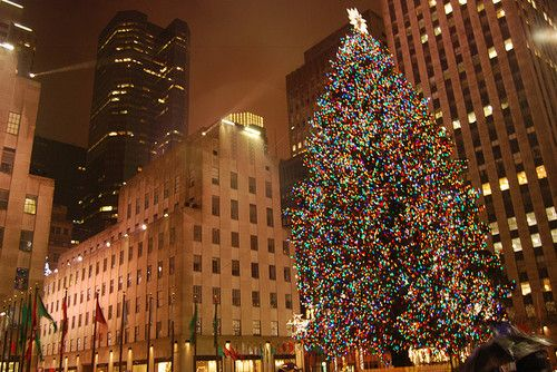 christmas in the city. Absolutely beautiful!  Dying to go back!