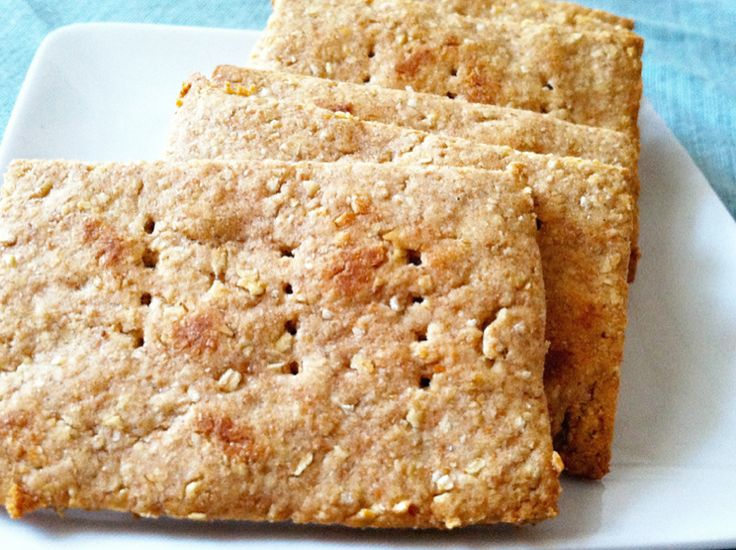 Honey & Oat Crackers