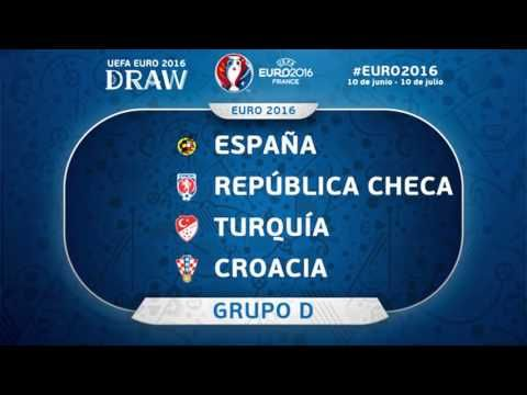 Grupos EUROCOPA 2016 y calendario