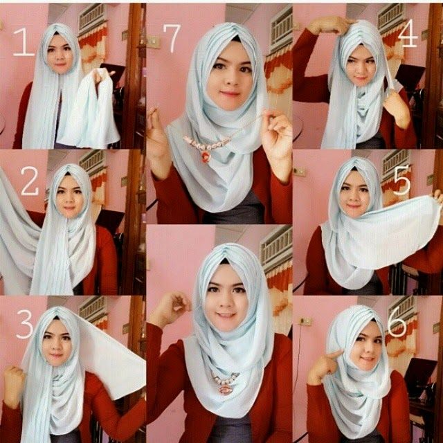 HIJAB FASHION INSPIRATION : Jeweled Hijab Tutorial