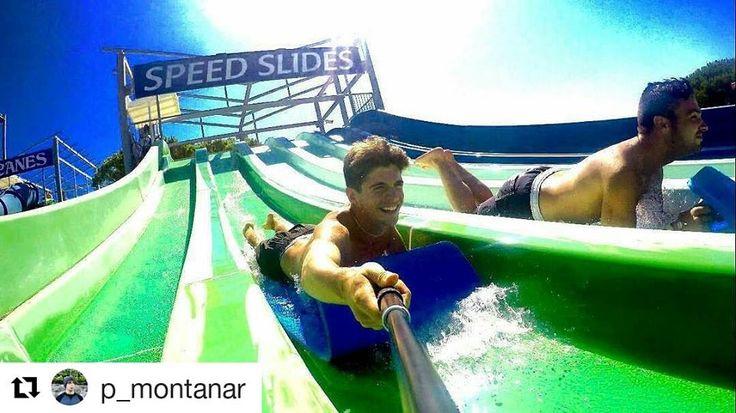 Nosaltres tenim moltes ganes de que torni l'estiu per tornar a veure fotos tan genials com aquesta d'en @p_montanar als #speedslides!