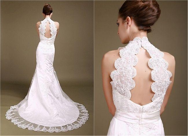 1000+ Ideas About Keyhole Wedding Dresses On Pinterest