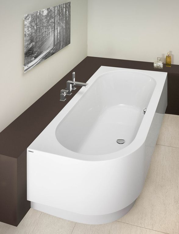 HOESCH corner bathtub Happy D. (right)