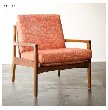 Mid-century chair ....my latest challenge