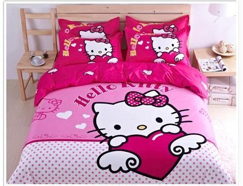 hello kitty 100 cotton bedding