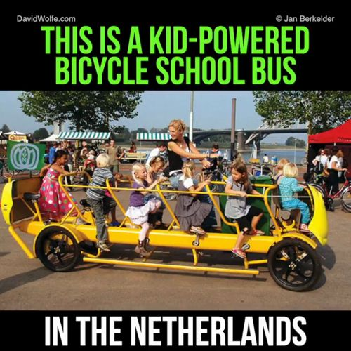 This Is A Kid-Powered Bicycle School Bus In The Netherlands  🚵🚴 #cycling #bike #ebike #time #love #music #life #today #day #video #work #game #girl #weekend #mountain #running #mtb #roadbike #cyclist #roadcycling #riding #bitcoin #blockchain #ecommerce #fashion #tips #news #switzerland #suisse #svizzera ➡️  https://buybike.shop https://video.buffer.com/v/5a869ffe08cb794250383210