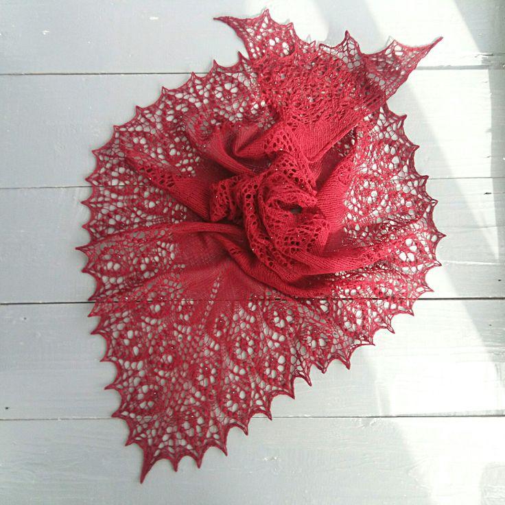 New shawl! Done✔