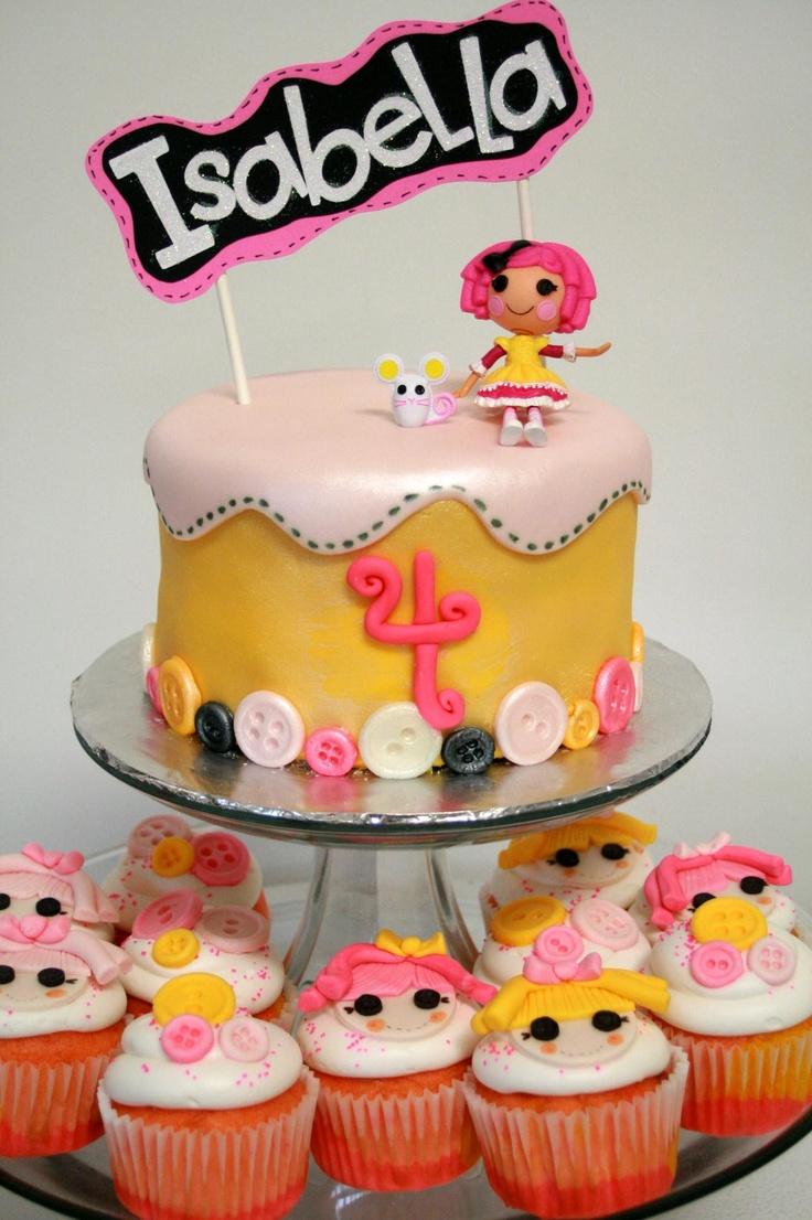 Elly S Studio Cake Design Chilliwack : Lalaloopsy Cake by Kool Kakes Gateaux, sweet tables ...