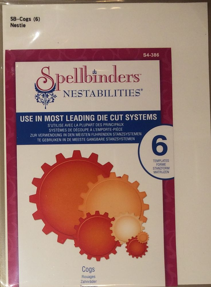 $10 - Spellbinders: Cogs