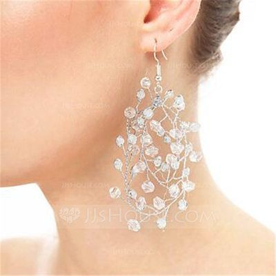 [€ 6.26] Elegante Diamantes de imitación con Rhinestone Señoras' Pendientes (011130110)
