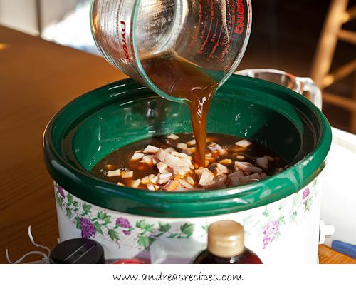 ... the molasses mixture over the beans. (Slow Cooker Boston Baked Beans