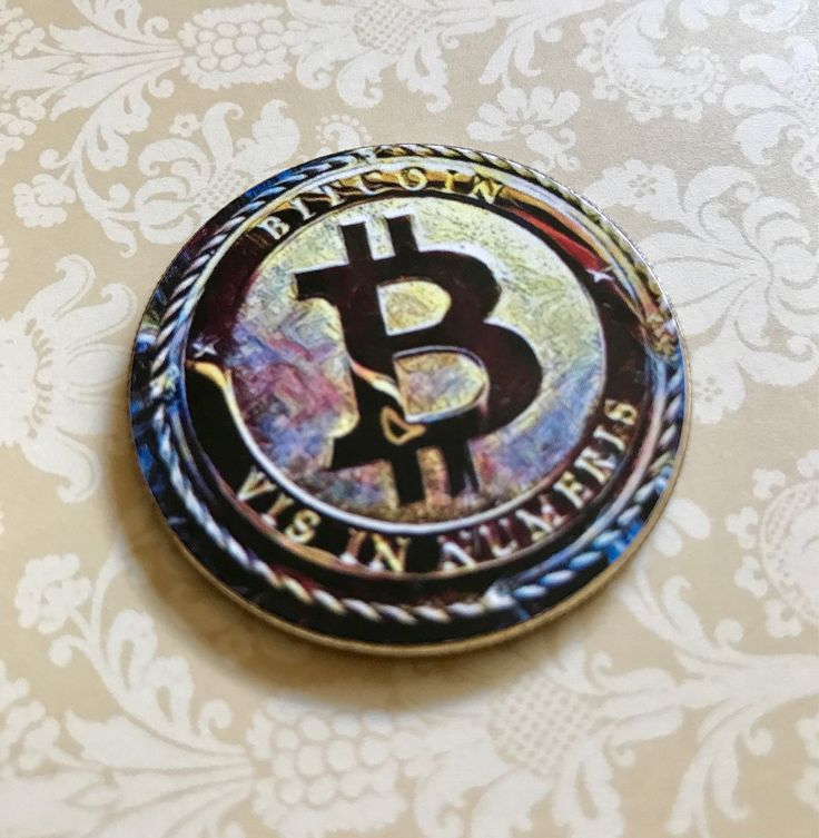 A personal favorite from my Etsy shop https://www.etsy.com/listing/544074281/bitcoin-novely-coin-crypto-currency