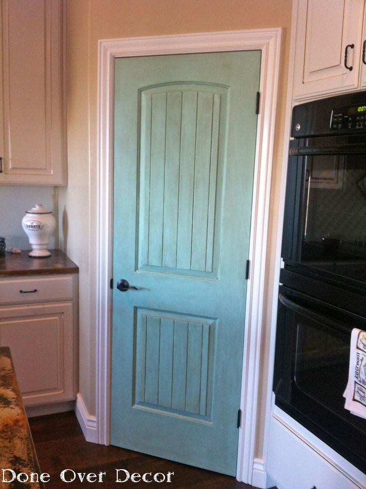 Done over decor distressed diy projects pinterest for Pantry door ideas