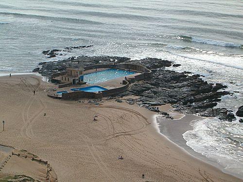 Amanzimtoti - where i was last week having tea by the sea.
