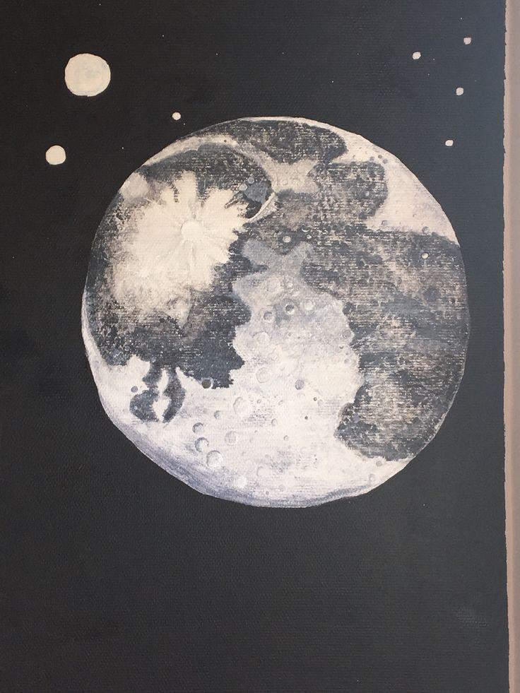 Moon. Måne.